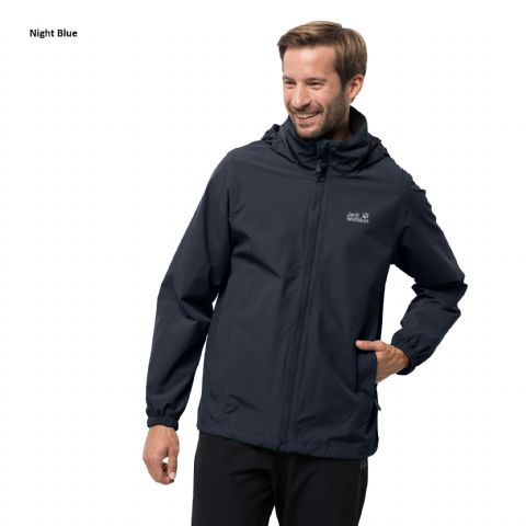 Jack Wolfskin Mens Stormy Point Jacket - Waterproof/Breathable